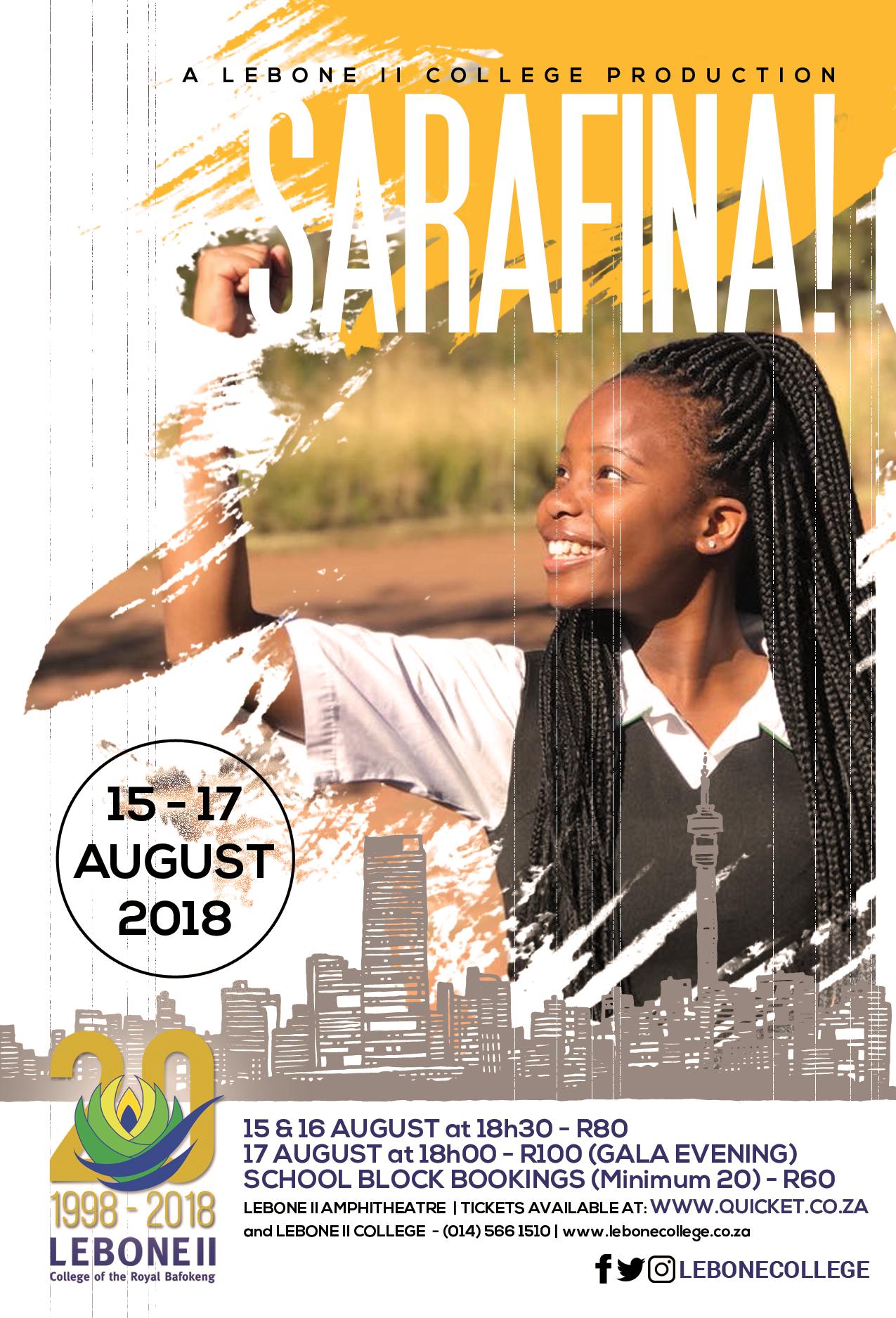 Sarafina Poster
